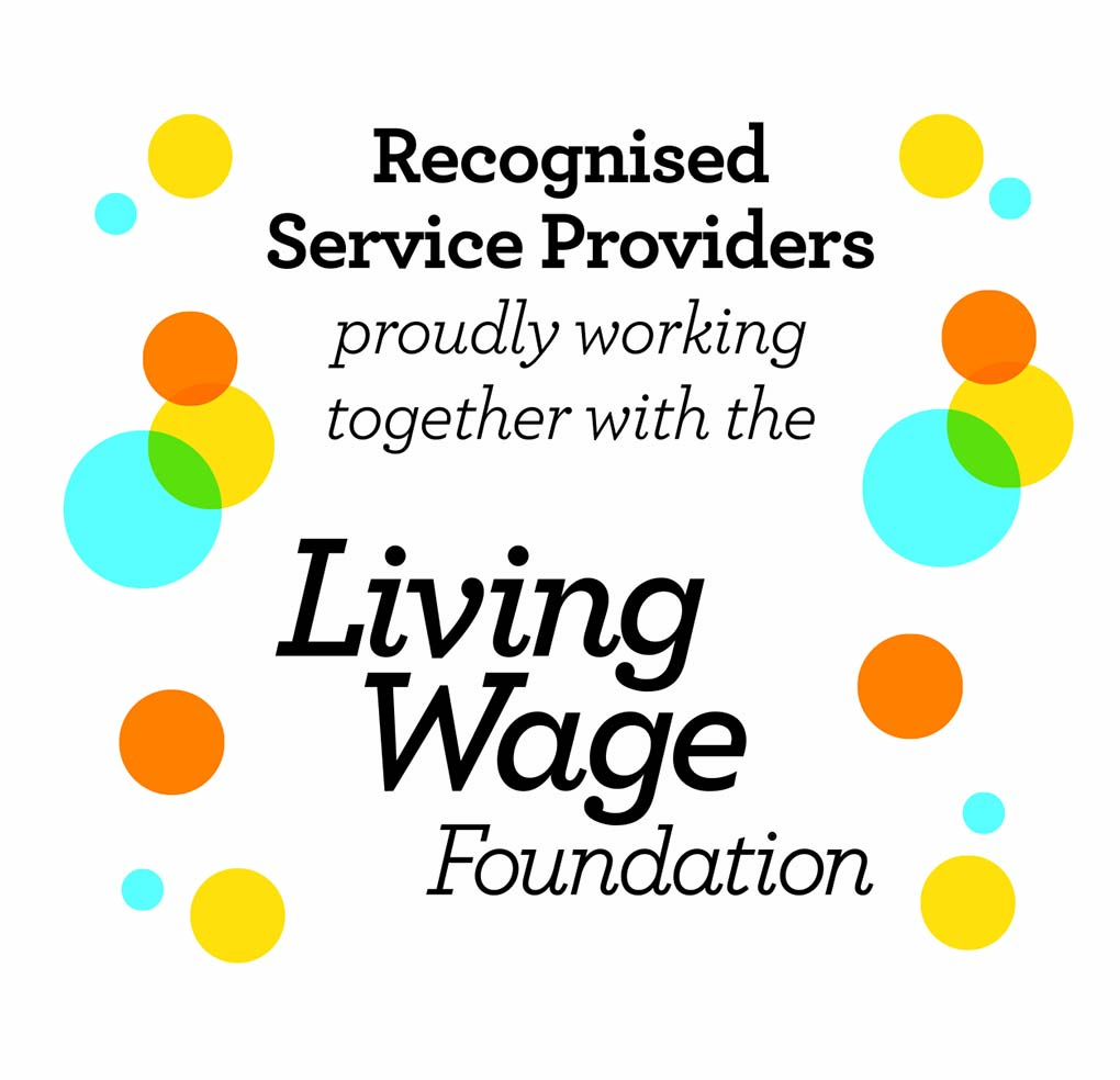 Andron - working with the Living Wage Foundation